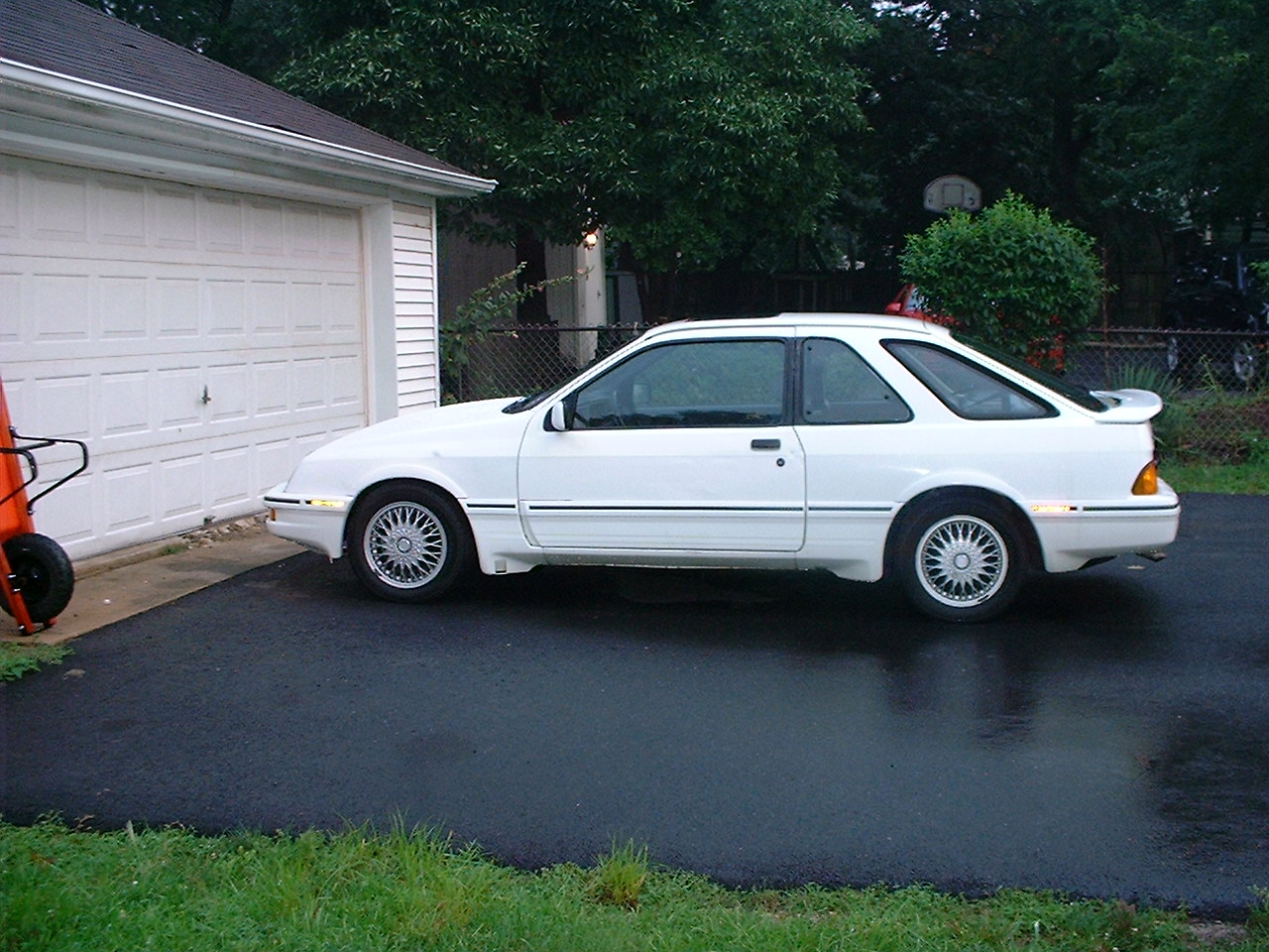 1988.5 Merkur XR4Ti.